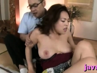 Obese titted oriental milf..