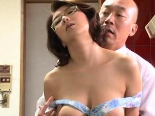 Japanese honey gets her..