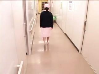 Kawaii nurses have a go the..