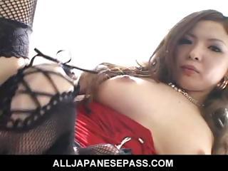 Horny cougar Naami Hasegawa..